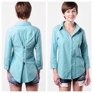 Elizabeth And James Cohen Button Down Top Small